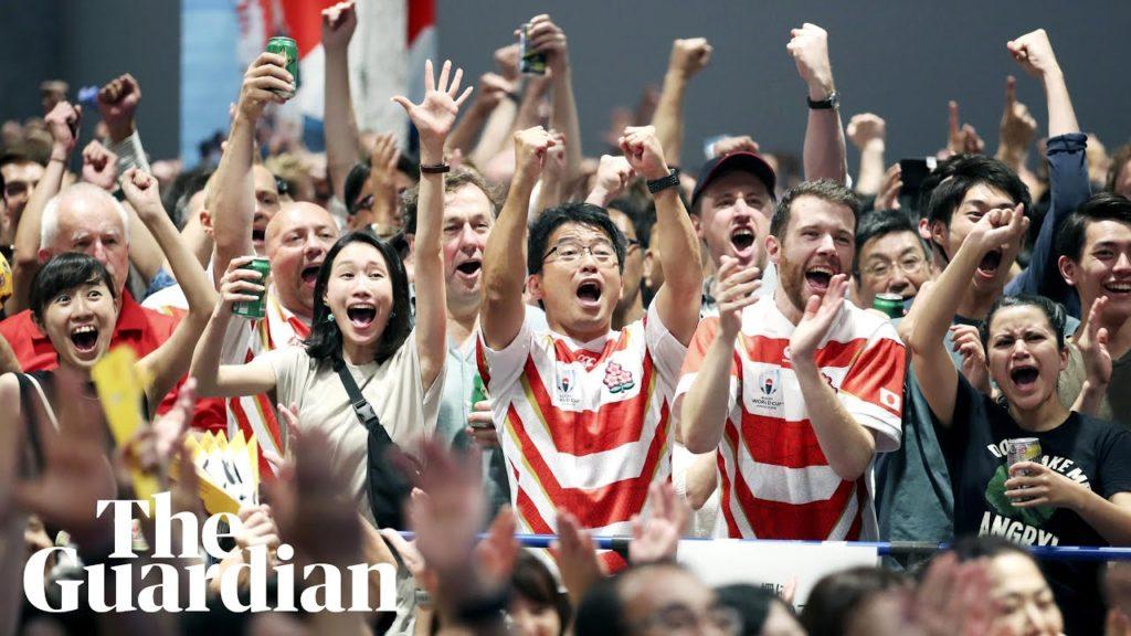 奇跡が再び、ワールドカップ・ラグビー「日本VSアイルランド」