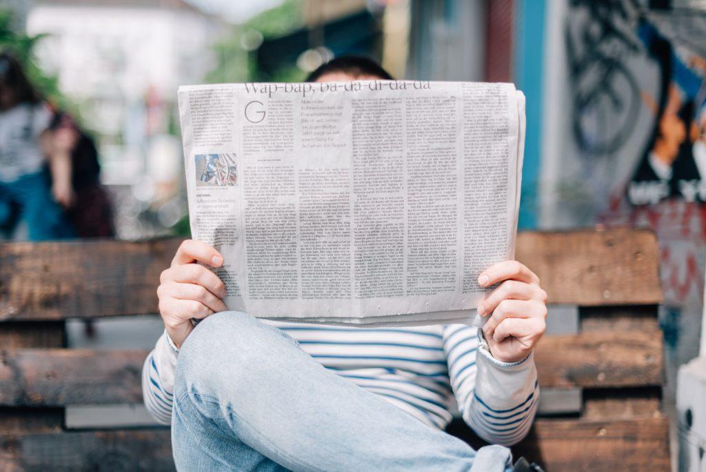 日経225先物をトレードするのに日経新聞はいらないが、新聞は僕の愛読書